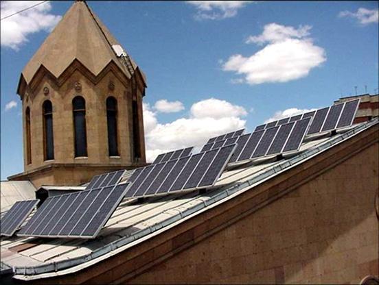 Solar energy in Armenia